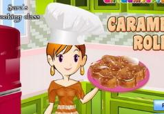 игра кухня сары готовим роллы