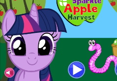 Игра Мой маленький пони Урожай яблок Твайлайт