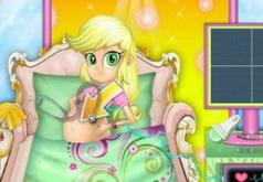 Игры Эпплджек беременная — Девушка пони из Эквестрии