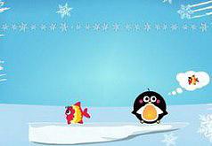 Игры пингвин рыбак
