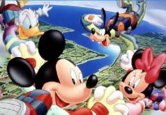 Игра Микки Маус ищет числа