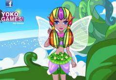 игры цветочная фея прически