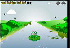 лягушка которая ловит леденец игра