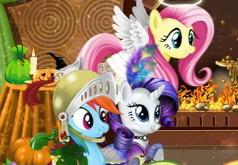 игра пони хэллоуин