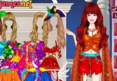 Игра Барби принцесса Хеллоуина