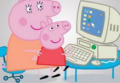 Игры Свинка Пеппа за компьютером
