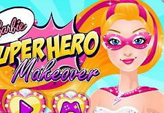 игры супергерои барби