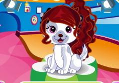 Игры для девочек парикмахерская кошек