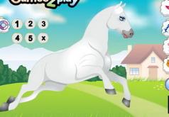 Игры Одеваем скачущую лошадь