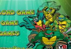 Игры Три черепашки ниндзя