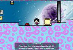 Игра бродилка девочка в космосе