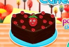 Игра Малиновые пирожные с шоколадом