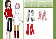Игры наруто одевалки пары