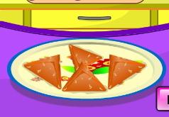 Игры Самоса из овощей