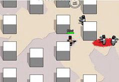 игры зомби на двоих квадратные головы