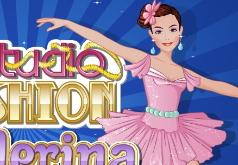 Игры Модная студия Балерина