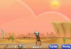 Игры Зомби против Растений древний Египет
