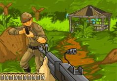 Игры Рэмбо в действие 3Д