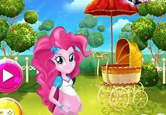 Игры Беременная Пинки Пай — Девушка пони из Эквестрии