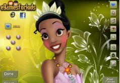 Игры Макияж для принцессы Тианы