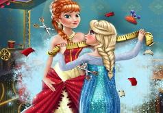 Игры Сказка Анны и Эльзы