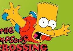 Игра Симпсоны Переправа