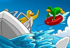 Игры Пляжные каникулы пингвинов Пазл