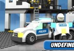 Игры лего полиция полицейский участок