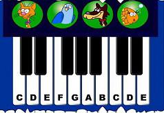 виртуозная игра на пианино