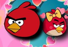 Игры Сердитые птички Спаси свою любовь 2