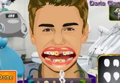 Игры Джастин Бибер: идеальные зубы
