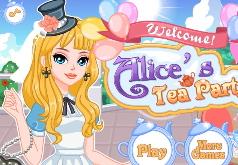 алиса чаепитие игра