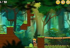 Игры Джо и Момо Погоня в лесу