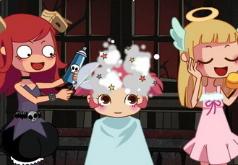 игры для девочек парикмахерская чертёнок