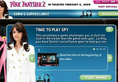 Игры Розовая пантера 2 Новые приключения
