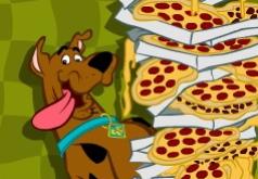 Игры Скуби Ду готовит пиццу