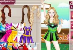 игры для девочек барби черлидер