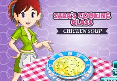 Игры Кухня Сары куриный суп