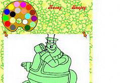 Игра Пятнашки - Дедушка Шершень