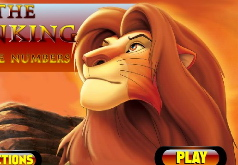 Игра Король Лев Поиск чисел