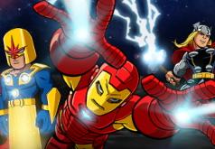 Игра Мстители Камни Таноса часть 2