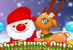 Игры Новый Год с милым оленем