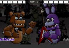 5 ночей с аниме фнаф игра