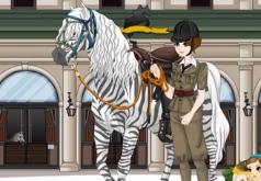 Игры Барби и её лошадь