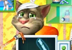 Игры Операция на руке говорящего Тома
