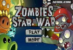 Игры Зомби против растений 7 Звездные войны