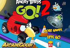 Игры Гонки Angry Birds энгри бердз часть 2