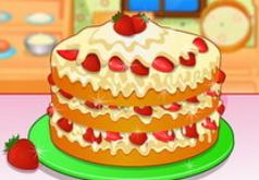 Игра Быстрый клубничный пирог 2