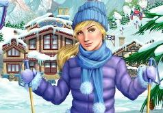 игры лыжный курорт могул