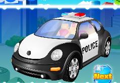 Игры Автомойка для полицейской машины